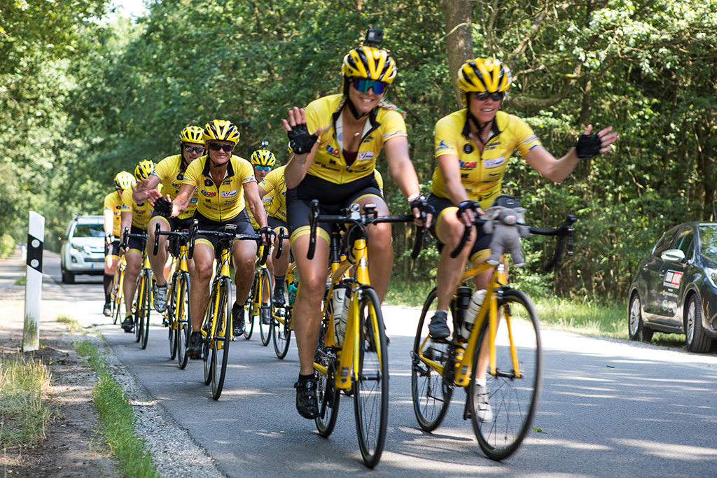 Team Rynkeby på cykel